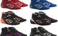 Alpinestars Karting Shoes Tech 1-K Black Fuchsia 34